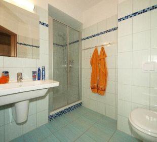 Badezimmer Aparthotel Strandhus