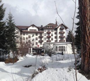 Hotelaussenansicht Sunstar Alpine Hotel Flims