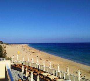Blick vom Balkon Hotel XQ El Palacete