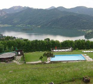 Außenpool Alpenhotel Schliersbergalm