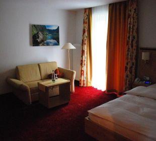 Großes Einzelzimmer Alm- & Wellnesshotel Alpenhof