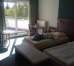 Doppelzim. mit Balkon