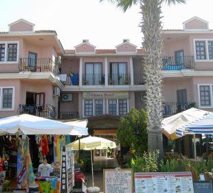 Promenadeneingang Günes Hotel Günes
