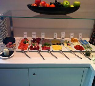 Frühstück in der Executive Lounge
