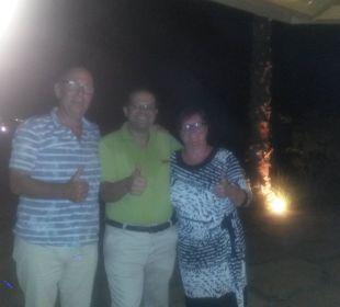 Der gute Geist der Strandbar Bassem