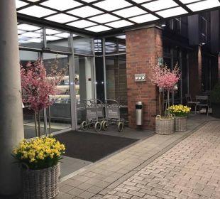 Sehr schön gestaltet The Madison Hotel Hamburg