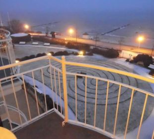 Blick aus dem Zimmer 30.01.2017 Travel Charme Ostseehotel Kühlungsborn