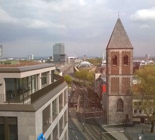 Ausblick Dorint Hotel am Heumarkt Köln