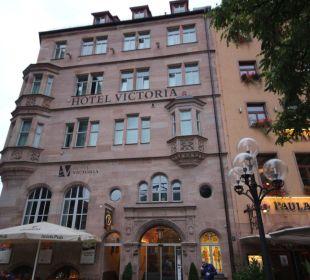 Hotel Viktoria, Nähe Hbf im Zentrum  Hotel Victoria Nürnberg