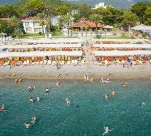 Hotel Beach (Bird's eye view) Eldar Resort