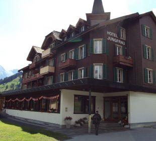 Hôtel Jungrau - vue extérieure Hotel Jungfrau