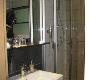 Badezimmer Hotel Merkur