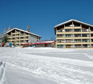 Front Winter Hotel Panorama Valbella (geschlossen)