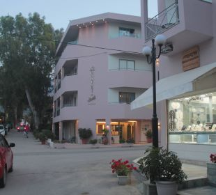 Hauptgebäude Hotel Corissia Beach