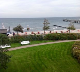 Die Ostsee ganz ruhig  Travel Charme Ostseehotel Kühlungsborn