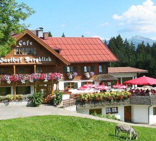 Gasthof Bergblick im Sommer Gasthof Bergblick