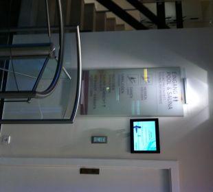 Zugang zum Pool 5 Euro pro Besuch und Person Hotel The Westin Leipzig