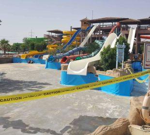 Baustelle Aquapark Jungle Aqua Park