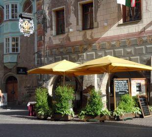 Außenplätze des Restaurants Best Western Plus Hotel  Goldener Adler