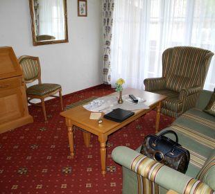 Wohnbereich Suite Leopold Vital Hotel Zum Ritter