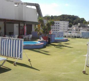 Dachterrasse Hotel Xaine Park