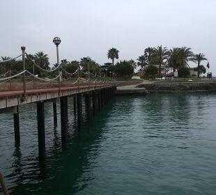 Blick vom Steg Oz Hotels Incekum Beach