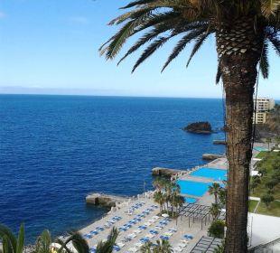 Blick zur unteren Ebene Hotel The Cliff Bay (PortoBay)