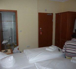 Zimmer Nr. 5 im EG Pension Sanddorn