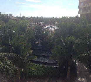 Ausblick von der Terrasse Hotel Royal Dragon