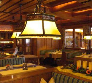 Ресторан отеля Seeböckenhotel Zum weissen Hirschen