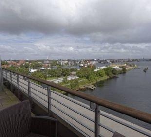 Hafenseite: Ausblick nach Norden