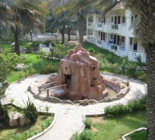 Gartenanlage Hotel Flamingo Beach Resort