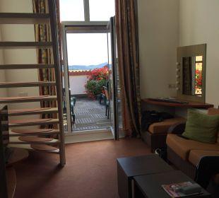 Wohnzimmer mit Terrasse Center Parcs Park Zandvoort - Strandhotel