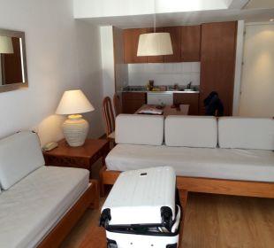 Wohnzimmer mit Essecke Aparthotel Esperanza Park