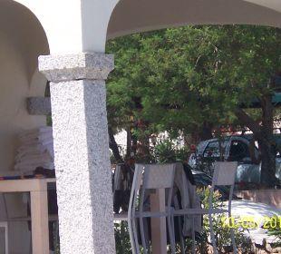 Terrassse Sardafit Ferienhaus Budoni