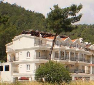 Hotel vom Feldweg aus gesehen Hotel Forest Park