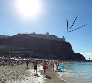 Hotel und Strand  ClubHotel Riu Vistamar