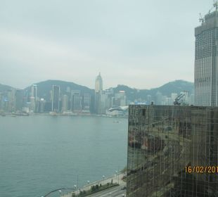 A view from window InterContinental Hotel Grand Stanford Hong Kong
