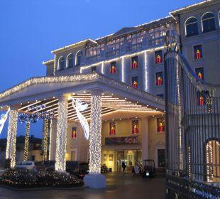 Außenansicht Haupteingang Hotel Colosseo Europa-Park