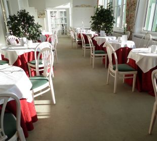 Restaurant mit schönem Ausblick Hotel Panhans