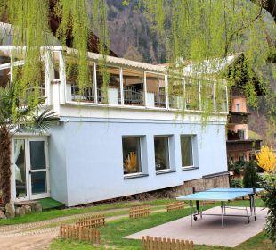 Von aussen Hotel Alpenhof Passeiertal