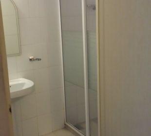 Bad mit Dusche Shalimar Hotel