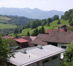 Balkonblick Schwandenhof Ferienwohnungen