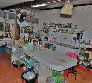 Blick in die Küche Hotel Na Thai Resort