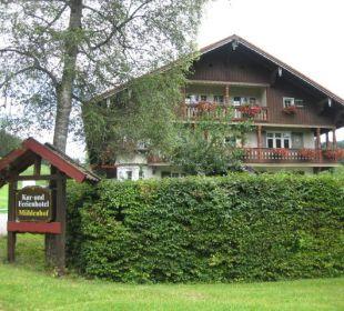 Hotel von der Einfahrt aus Hotel Mühlenhof
