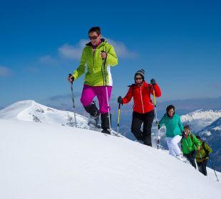 Schneeschuhwandern im Nationalpark Gästehaus Luggau