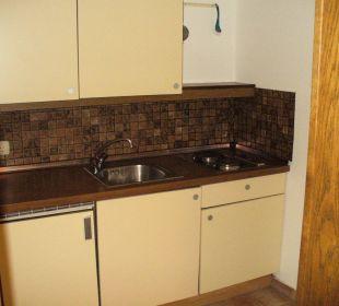 Küchenzeile im Appartement Hotel Alexander