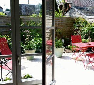 Terrasse Privative Pavillon B&B Aux Rives de Honfleur