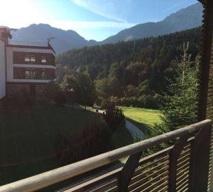 Blick aus Superior Zimmer Kempinski Hotel Berchtesgaden