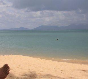 Füße hoch Anantara Bophut Resort & Spa